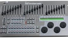 Lichtpult bzw. DMX Pult - DMX Invader 2420