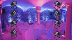 8er Set LED Floorspots zur Beleuchtung - auch mit Akku erhältlich. LED Beleuchtung