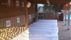 Gastroraum, Partyraum, Hochzeitslocation, Weihnachtsfeiern, Konfirmation,Taufe, Betriebsfeier, Sommerfest mit Heuherberge und großem Spielgelände
