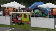 Spielplatz, Hüpfburg mieten, leihen, verleih