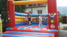 Hüpfburg Zirkus 5 x 6 Meter  Inkl. MWSt.