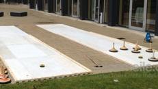 Eisstockbahn / Curlingbahn / Eisstockschiessen auch inkl. Überdachung