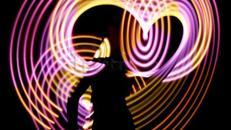 Lichtshow - Feuershow - Stelzenläufer
