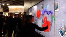 Multi-Touch-Steglos-Bildschirme-Wand mieten