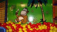 Dschungel-Spielmobil & Bullenreiten mieten Bullriding leihen
