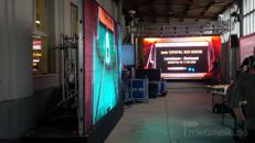 P4 bis P6 LED Wand Videoinstallation