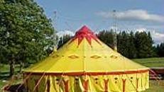 Zirkuszelt | Circuszelt - 16 Meter rund  (200 m2)