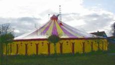 Circuszelt | Zirkuszelt - 28 m rund