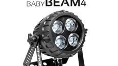Ehrgeiz BabyBeam4 LED Outdoor Scheinwerfer, RGBW, 60W LED, 8°,IP67
