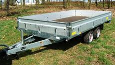 GG 3500 kg - 4010 x 2030 x 345 Nutzlast 2900 kg