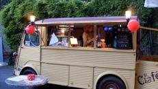 Mobile Cafe Bar Kaffee Oldtimer