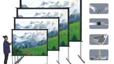 FastFold Grossbildwand » Auf- / Rückpro 240x180cm