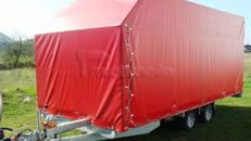 2700 kg PKW Transportanhänger gebremst geschlossen