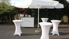 Sektempfang Schirmbar Premium für Ihre Hochzeit