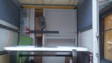 Möbelkoffer,LKW inkl.Fahrer,Decken,Gurte EU weit