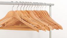 Kleiderstange, Garderobe