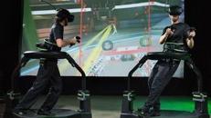Virtual Reality Laufband VR Virtuix OMNI