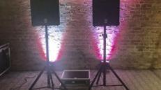Musikanlage für kleine bis mittlere Veranstaltung