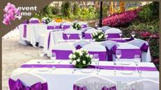 Wir dekorieren Hochzeiten ganz nach Ihren Wünschen