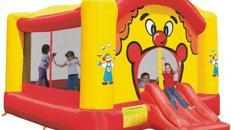 Hüpfburg Clown 4x5m