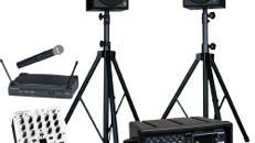 Musik-Sound PA Set - Mono