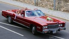 Hochzeitsauto - Einmaliger Tag mit einmaliger Limousine