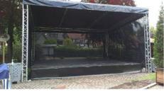 Bühne 8x6m