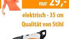 Elektrische Kettensäge 40 cm