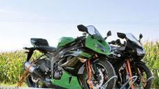 Anhänger SySTEMA MT Hochlader bis 3 Motorräder