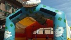 Hüpfburg Clown mit oder ohne Dach