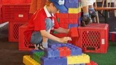 Riesenlegos, Kleinspielgeräte, Kinderfest