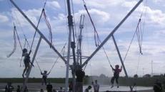 Bungee Trampolin, Bungy, Kinderfest