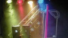 Bühne und Licht
