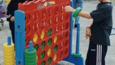 Vier Gewinnt, 4 Gewinnt, Kinderfest, Kleinspielgeräte