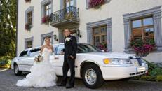 Traumhaftes Hochzeitsauto