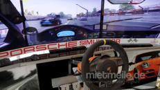 Rennsimulator Porsche Cup GT3 mieten, leihen, verleih