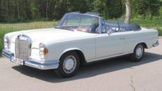 Mercedes 250 SE Cabrio/Oldtimer/Cabrio/Mercedes Benz/Hochzeitsauto/Klassiker