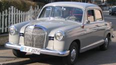 Mercedes 190b Ponton/Oldtimer/Klassiker/Limousine