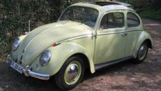 VW Käfer mit Faltdach/Oldtimer/Klassiker/Volkswagen