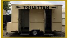 Toilettenwagen Th -MIDI-mieten, inkl.20Km, Auf-u.Abbau, 1x Personal...