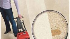 Teppichreiniger mit Schwingbürste