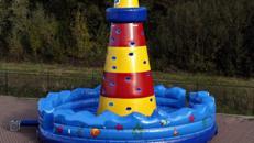 Kletterleuchtturm aufblasbar
