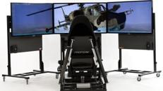 Full Motion Flugsimulator, Flug Simulator, Jetsimulator,  auch mit VR Brille (Virtual Reality)