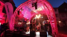 Bühnendach Halbrundbogen - Komplettbühne