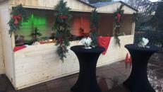 Verkaufsstand / Hütte /Glühweinstand