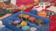 Kinderschminken,Glitzer-Tattoos,Ballonkunst, Clown