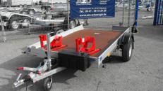 Motorradanhänger Daltec Senkomat Lifter 1,3 t