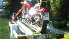 Motorradanhänger STEMA MT 850 oder SySTEMA