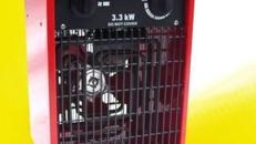 Zeltheizung / Elektro-Heizgerät 3,3 KW