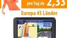 Navigationssystem inklusive 45 Länder